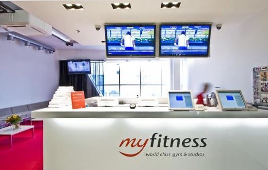 MyFitness Viru spordiklubi linna südames