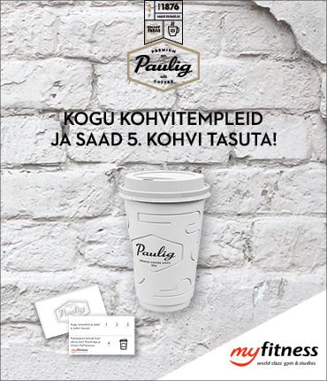 MyFitness Paulig 5. kohv