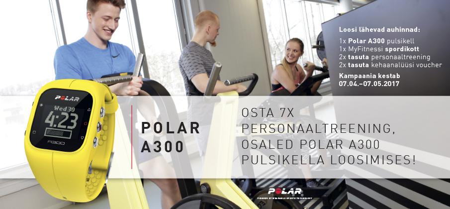 MyFitness Polar A300 kampaania