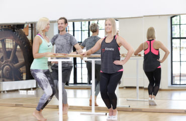 barre, stange, ballett, pilates, trenn, fitness, aeroobika