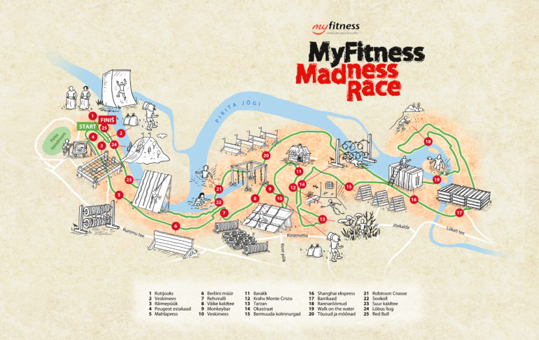 MyFitness Madness Race: Pirita